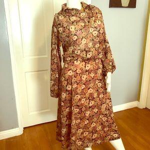 True Vintage Smock Skirt/Top Set